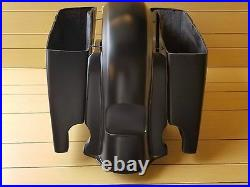6 Extended Stretch Bags And Rear Fender For Touring Models 2014-2016