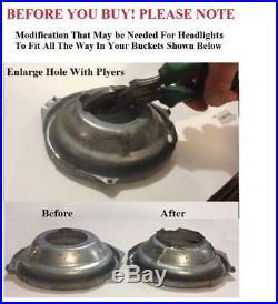 7 H4 10 Led Dual Function Turn Signal & Park Headlights Head Lamp Conversion 4