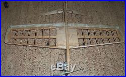 9 Vintage Control Line Model Airplanes with extra Engines & Parts