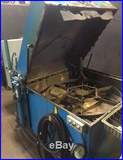 ADF Systems model 800 Rotary Parts Washer 42 Basket