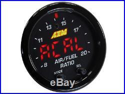 AEM 30-0300 X-Series Wideband Gauge AFR O2 UEGO Air Fuel Ratio 2 1/16 NEW MODEL