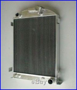 ALL ALUMINUM RADIATOR FORD-Model 1935-1936 CHEVY-V8-Engine 3 ROW Stock Height