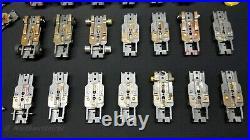 AURORA MODEL MOTORING TJET 1960's Solid Rivet Chassis / Parts / Junk Bundled Lot