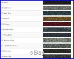Acc 84-89 Toyota 4 Runner Molded Carpet Floor Rug Choose Color
