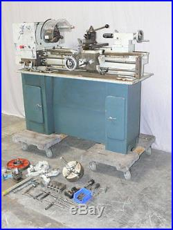 Acra Turn Lathe Model 12 x 36GH with Attachments & spare Parts S/N 19629