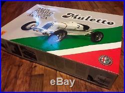 Alfa Romeo 8C, Pocher model 2300 Monza PARTS BOX