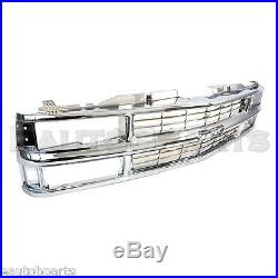 All Chrome Grille For 94-98 Chevy C/K Pickup Truck Suburban Tahoe GM1200463