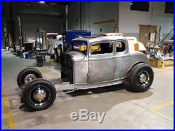 All Steel 1932 Ford 5 Window Coupe Body Chopped Hot Rod Custom Street Chop Top