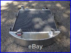 Aluminum Radiator For 1924-1927 Ford Model-t Bucket Chevy Engine 3row + 16fan