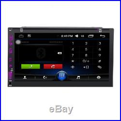 Android 6.0 Car DVD Player 7 GPS Navigation In-dash Bluetooth WIFI Radio+Camera