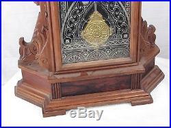 Antique Ansonia Niagara Model Parlor Kichen Shelf Clock for Parts Restoration