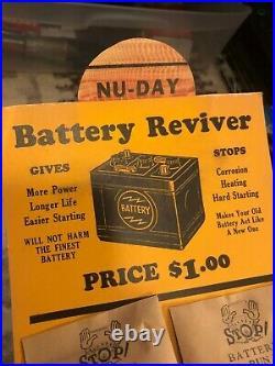 Antique Auto Car Truck Part Engine Battery Spark Plug Parts