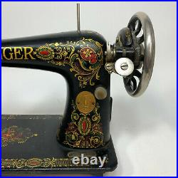 Antique Singer Sewing Machine Head Model 66 Red Eye # G0094939 For Parts