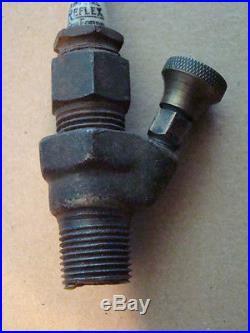 Antique spark plug Reflex for Ford brass era odd primer model T vintage old car