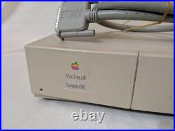 Apple Macintosh Centris 610 Model M1444 Original Parts Turns On UNTESED