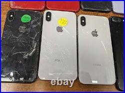 Apple iPhone lot Multiple models 11, XR, X, 8 Plus, 7 Plus for parts