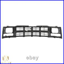 Argent Grille Replacement Parts For 94-98 Chevy C1500 K1500 Truck Seal Beam