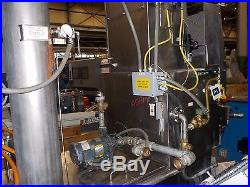 Automated Finishing Inc (AFI) Model 3693 Stainless Steel Parts Washer