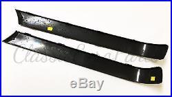 BMW E30 EURO REAR BUMPER TRIM Molding late model NFL plastic left + right 325 i