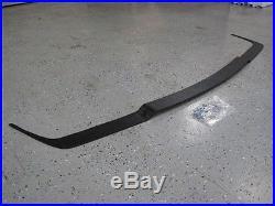 BMW e30 Late Model iS Splitter chin lip 325is 318is 325 318 Fits onto OEM IS LIP