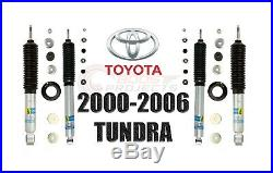 Bilstein B8 5100 Adjustable Front Shocks with Rear Set For 2000-2006 Toyota Tundra