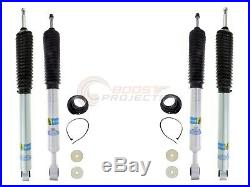 Bilstein B8 5100 Adjustable Front Shocks with Rear Set For 2007-2019 Toyota Tundra