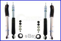Bilstein B8 5100 Adjustable Front Shocks with Rear Set for 4-Runner / FJ Cruiser
