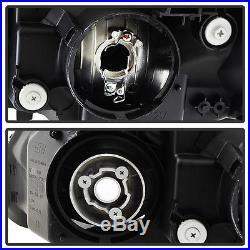 Black 2002-2003 Acura TL HID Xenon Model Headlights Headlamps Pair Left+Right