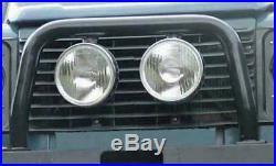 Black A Bar Nudge Bumper for Land Rover Defender 90 110 83-16 models non aircon