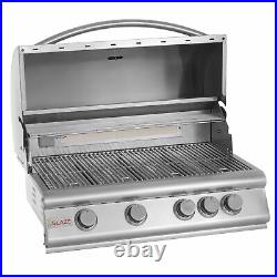 Blaze Grills 32 Built-In 4-Burner Propane Gas Grill with Rear Infrared(For Parts)