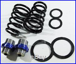 Blue Suspension Coilovers Set For 99-05 Bmw 3-series E46 320 323 325 328 330 Rwd