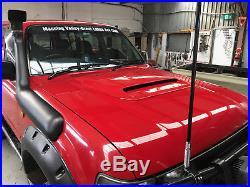 Bonnet scoop 79 series V/8 to suit Hilux 93-2016, all Toyota models, Nissan Patrol