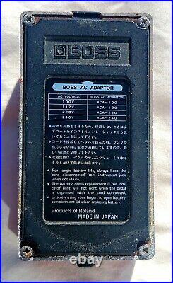 Boss Dm-2 Delay. Original Japanese Model Not Working For Parts/repair
