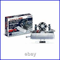 Build-Your-Own Porsche Flat 6 Boxer Engine Model Kit, Moving Parts & Sound