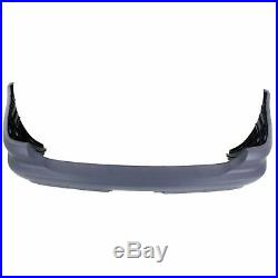 Bumper Cover For 2003-2005 Mercedes Benz ML350 Base With Tailer Coupling Rear