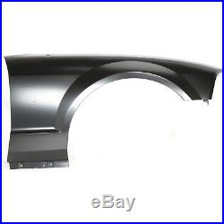 Bumper Cover Kit For 2005-2009 Ford Mustang Front 2pc with Fender