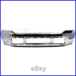 Bumper For 99-2004 Ford All Super Duty Models Front withPad Upper Valance