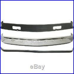 Bumper Kit For 88-98 Chevrolet C1500 88-2000 C2500 Front 3Pc
