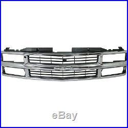 Bumper Kit For 94-98 Chevrolet K1500 94-2000 K2500 Front 2Pc