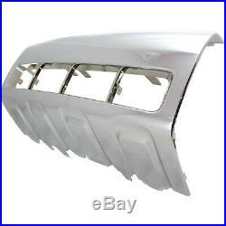 Bumper Trim For 2008-2012 Ford Escape, Front Bumper Molding, Plastic, Chrome