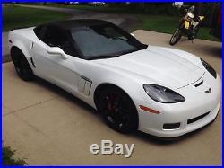 C6 (05-13) Corvette Base Model Only Fiberglass Side Skirts + Flaps WithHDWR