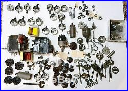 COLLECTION OF VINTAGE BOSCH IGNITION PARTS, MODEL T FORD, ANTIQUE AUTOS