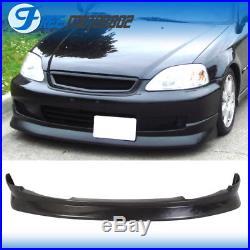 CS Style Front Bumper Lip Spoiler Wing Pu Fit Honda Civic Ek 2 3 4 Dr 99-00