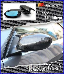 Carbon Fiber M3 Side Door Mirrors + Polarize Mirror for BMW E90 E92 E93 Pre-LCI