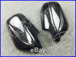 Carbon Fiber Mirror Cover Fit Gc8 99 00 Gd 01 02 03 Bugeye Impreza Early Model