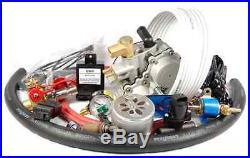Carburetor Cng Conversion Kit For 8 Cylinder Engines Up To 6.5l Model Cngc8