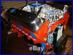 Chevy 350/350hp motor, with iron cylinder heads. Over 50 this model sold