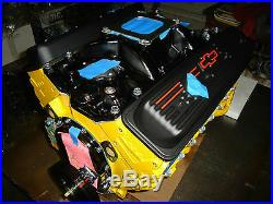 Chevy 383/425hp stroker motor, with GM VORTEC heads. Over 400 this model sold