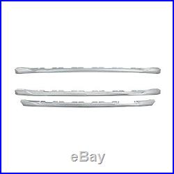 Chrome Grille Overlay (3 PCS) FITS 2016-2018 Chevy Silverado 1500 LT Z71 ONLY