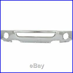 Chrome Steel Front Bumper Face Bar for 2006 2007 2008 Ford F150 Truck With Fog